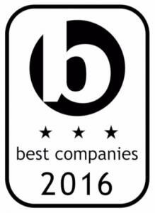 Best Companies 2016 Logo